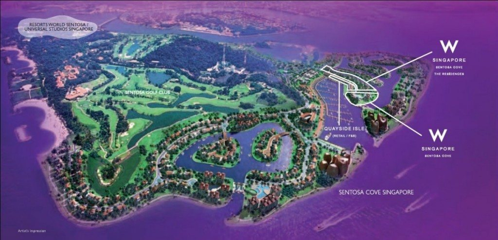 The Residences At W Singapore Sentosa Cove New Luxury Condo Launch