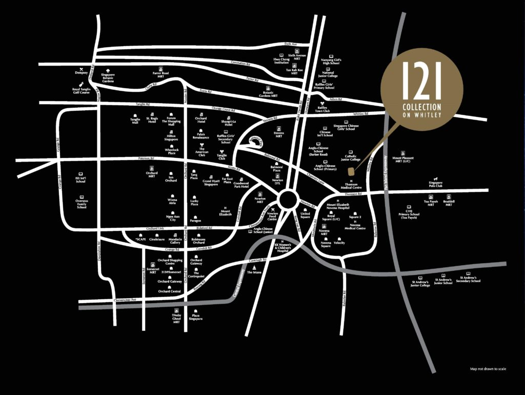 121 Collection on Whitley. Ready for occupation | Hotline +65 6750 4677. Prime, quality, freehold landed properties in District 11.