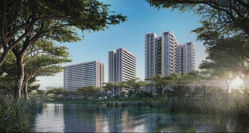 The Tre Ver is a 729-unit waterfront development located next to the Kallang River, and is poised to benefit from the government's initiative to transform the river into a lifestyle hub.